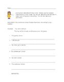 Adding Details Writing Activity