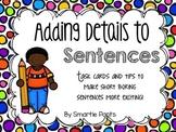 Adding Details to Sentences
