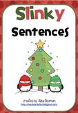 Adding Details to Sentences -  Christmas Slinky Sentences
