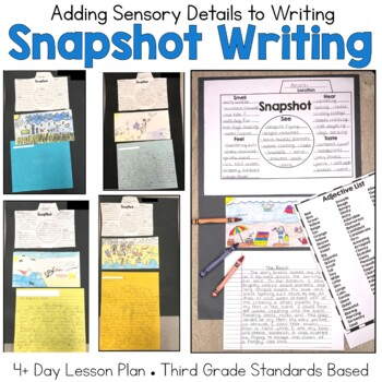 Adding Details to Writing: Snapshot Lesson