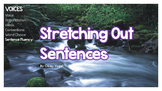 Stretching Out Sentences (Adding Details)