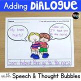 Adding Dialogue with Speech Bubbles
