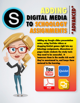 Adding Digital Media to Schoology Assignments