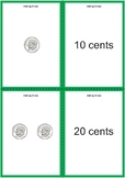 Adding Dimes Matching Cards