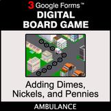 Adding Dimes & Nickels & Pennies - Digital Board Game | Go