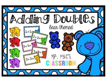 Adding Doubles Bundle- Bear Themed!