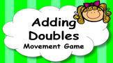 Adding Doubles Mental Maths Addition Game, Brain Break or Maths Warm Up