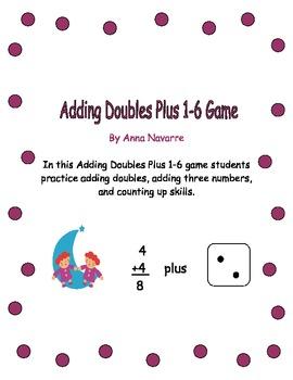 Adding Doubles Plus 1-6