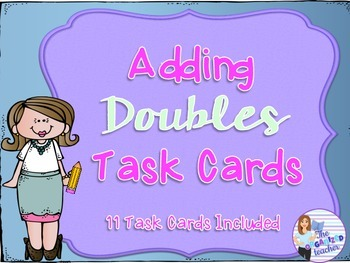 Adding Doubles Task Cards