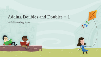 Adding Doubles and Doubles Plus One: Timed Power Point