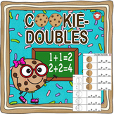 Adding Doubles with Chocolate Chip Cookies
