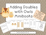 Doubles Addition Owl Mini-Book and Match-up Game