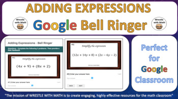 Adding Expressions – Google Bell Ringer with Student Feedback Option