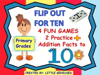 Adding Facts to Ten: Fun Domino Games