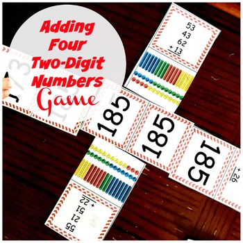 Adding Four Two-Digit Numbers Game