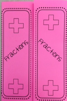 Fractions - Adding Foldable