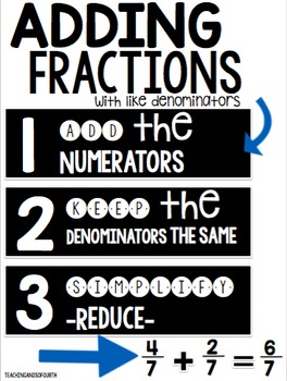 Adding Fractions {Freebie}