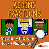 Addition Fractions With Unlike Denominator, Like Denom, Adding Fraction Activity