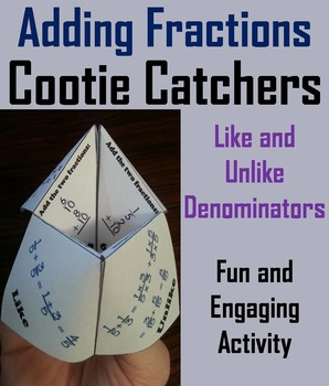 Adding Fractions with Unlike Denominators (and like) 4th 5
