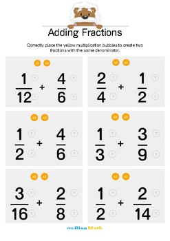 Adding Fractions 3