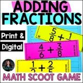Adding Fractions - 5th Grade Fraction Practice Worksheets