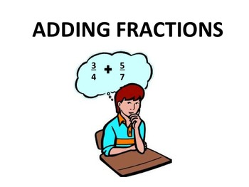 Adding Fractions Ascending Difficulty