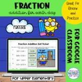 Adding Fractions | Earth Day Mystery Picture