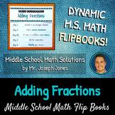 Adding Fractions Flip Book