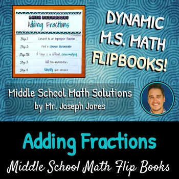 Adding Fractions Flip Book