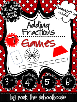 Adding Fractions Games