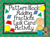 Adding Fractions Pattern Block Activity