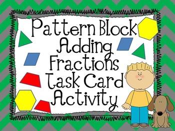 Adding Fractions Pattern Block Activity