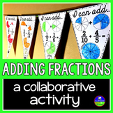 Adding Fractions Pennant