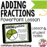 Adding Fractions PowerPoint Lesson