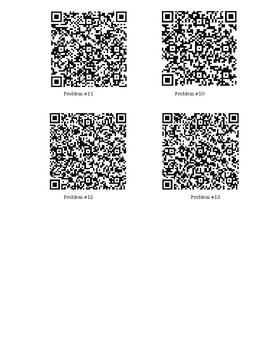Adding Fractions QR codes
