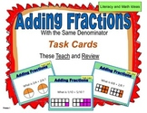 Adding Fractions (Same Denominator)