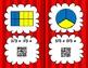 Adding Fractions Scavenger Hunt QR Code Cards