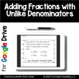 Adding Fractions Unlike Denominators Task Cards Google Dri