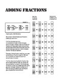 Adding Fractions (With Instructions)