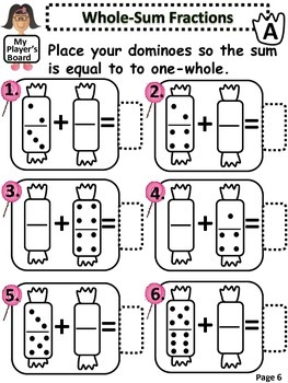 Adding Fractions With Dominoes