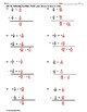 Adding Fractions Worksheet II