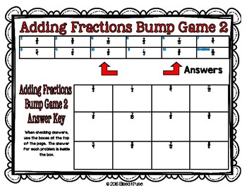 Fractions: Add Fractions w/ Uncommon Denominators {2 Differentiated Games}