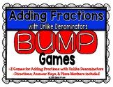 Adding Fractions w/ Uncommon Denominators Games