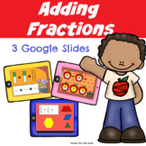 Adding Fractions with Common Denominators Digital Resource