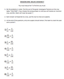Adding Fractions with Denominators 10 & 100 Bundle: 5 Games
