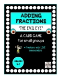 Adding Fractions with Like Denominators Card Game