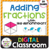 Adding Fractions with Like Denominators Math Distance Lear