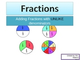 Adding Fractions with UNLIKE DENOMINATORS