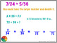 Adding Fractions with Unlike Denominators for Promethean Board
