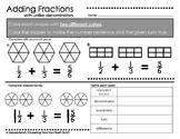 Adding Fractions with Unlike Denominators